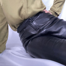 Load image into Gallery viewer, High Waist Leather Pants