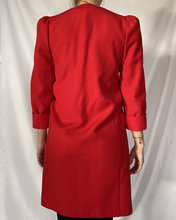Load image into Gallery viewer, Red Trench Coat