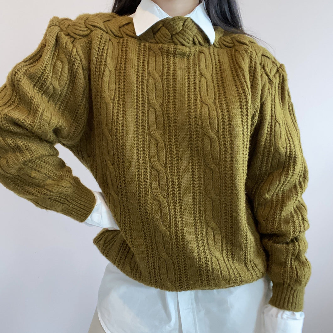 Vintage knitted wool