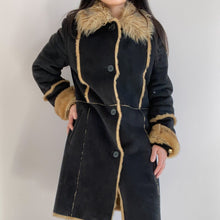 Load image into Gallery viewer, Vintage Lammy Coat Vegan Leather