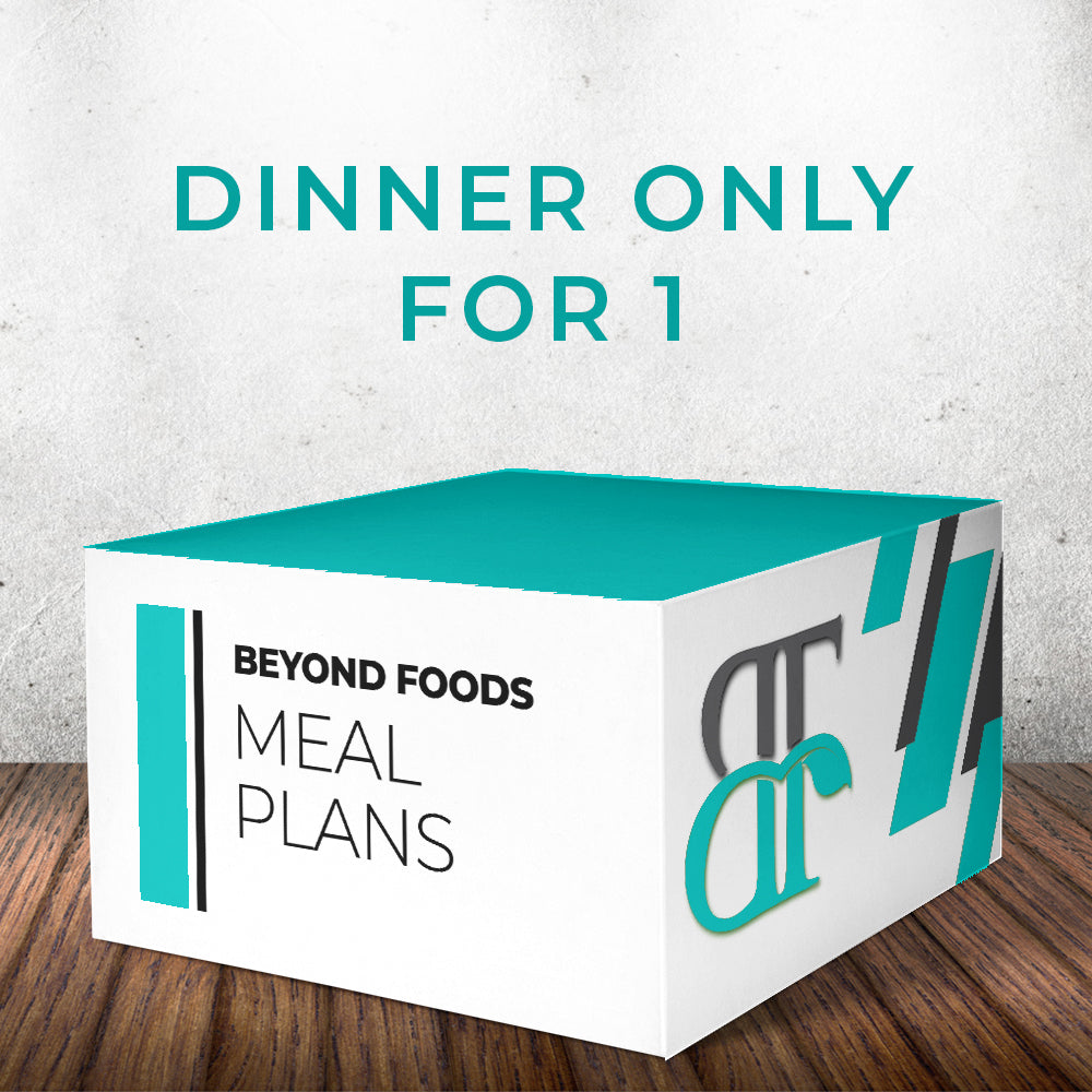 Dinner Only - Meal Plan for 1  - Local Delivery Only
