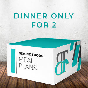 Dinner Only - Meal Plan for 2  - Local Delivery Only
