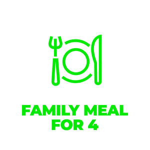 Family Meal for 4 - Fridays  - Local Delivery Only