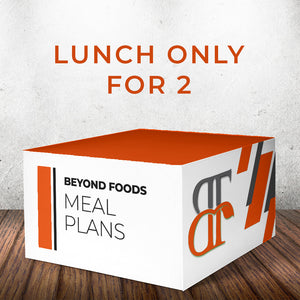 Lunch Only - Meal Plan for 2
