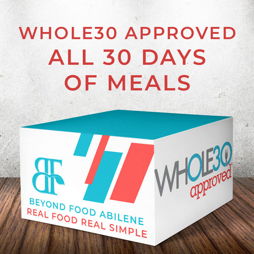 Whole30 Meal Plan - All 30 Days