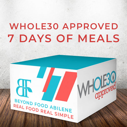 Whole30 Meal Plan - 7 Days, 1 Person, 2 Pickups