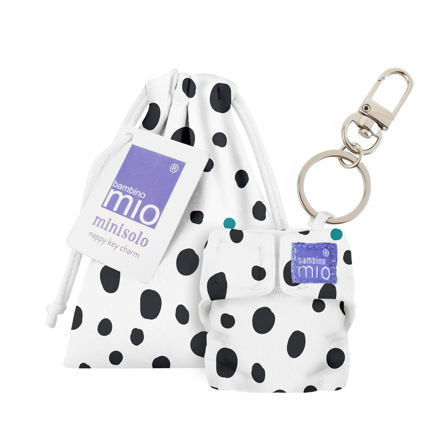 minisolo (diaper key chain)