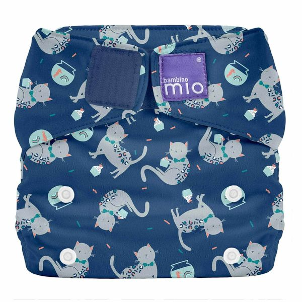 Miosolo All-In-One Cloth Diaper Elephant Stomp Bambino Mio