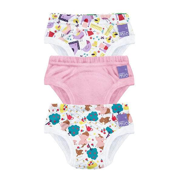 Potty Training Pants White Bambino Mio 18-24 Months 3 Pack