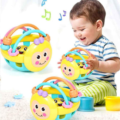 Soft Rubber Juguetes Bebe Cartoon Bee