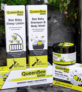 Pure New Zealand baby skin & hygiene products with Manuka Honey extract