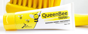 Baby toothpaste with pure Manuka Honey extract for healthy growing mouths