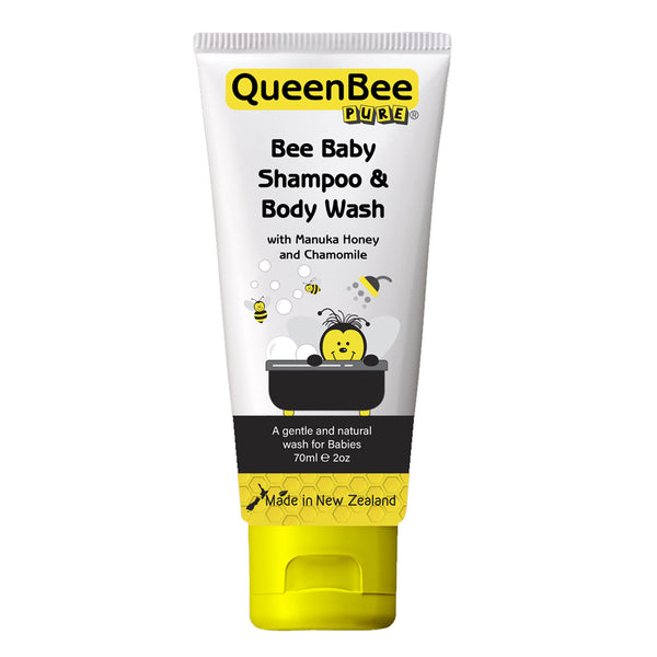 Bee Baby Shampoo & Body Wash with Manuka Honey and Chamomile