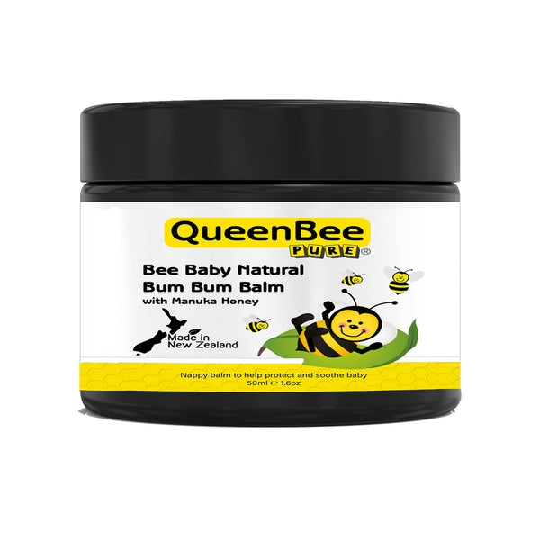 Bee Baby Natural Bum Bum Balm with Manuka Honey