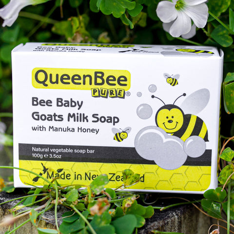 Manuka Honey & Goat's Milk Soap for Sensitive Skin