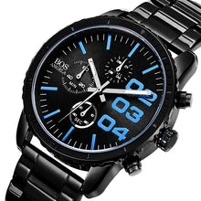 Load image into Gallery viewer, ANGELA BOS 8013G Luxury Timer Men Quartz Wrist Watch