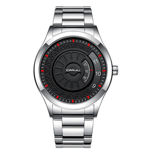 CRRJU 2141 Creative Stainless Steel  Casual Style Men Watch (001)