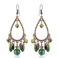 Load image into Gallery viewer, Bohemian Tassels Drop Earrings