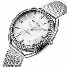 Load image into Gallery viewer, REBIRTH RE115 Diamond Dial Case Elegant Women Watch