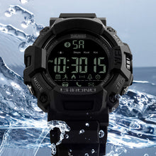 Load image into Gallery viewer, SKMEI 1249 50M Waterproof Smart Watches Calorie Chronograph bluetooth Sport Watch