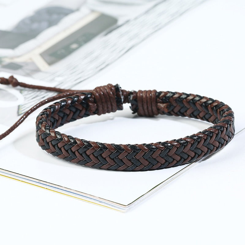 Retro Woven Multilayer Bracelet