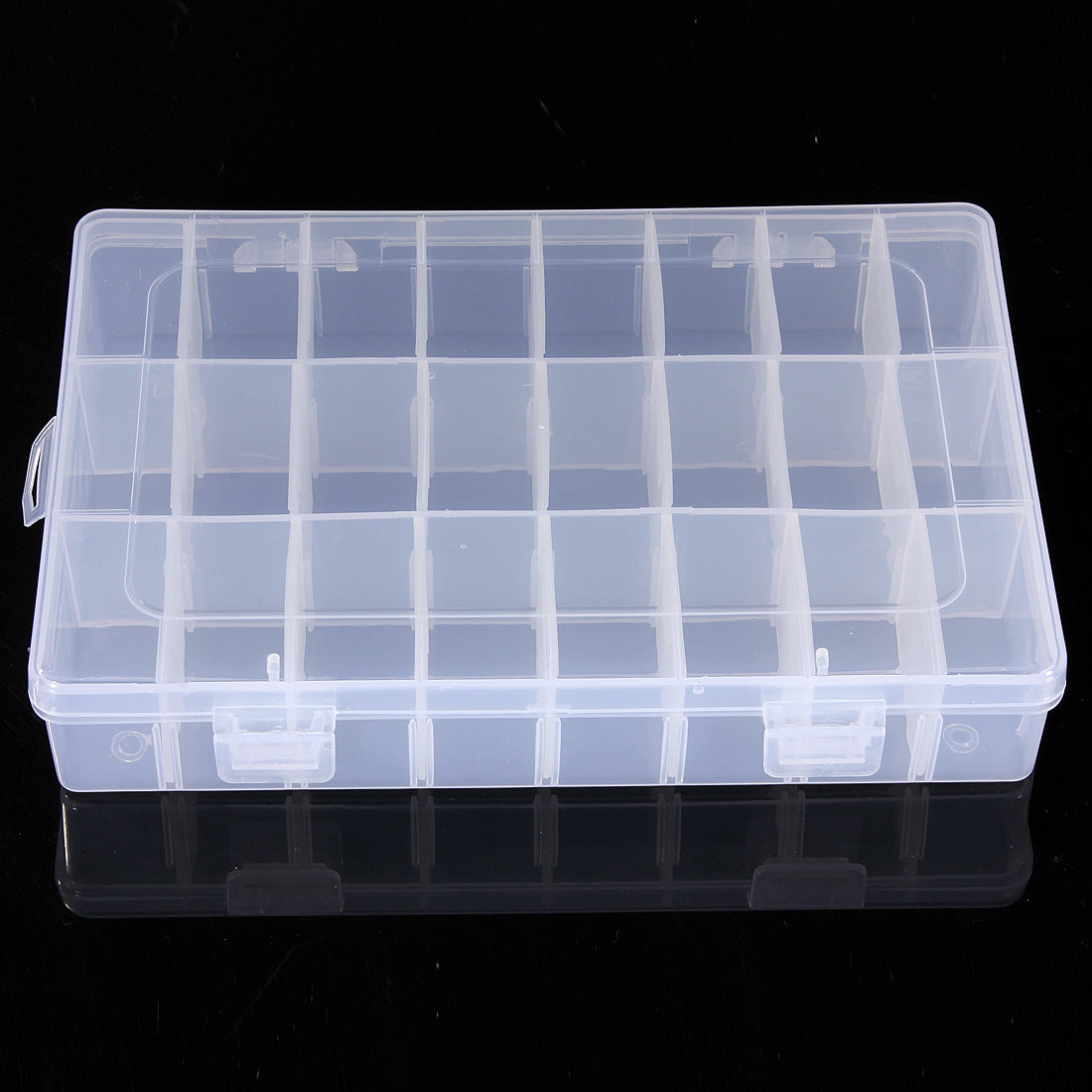 10/15/24/36 Grid Adjustable Bead Organizer Box Storage Case