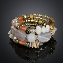 Load image into Gallery viewer, Retro Multi Layer Beaded Bracelet