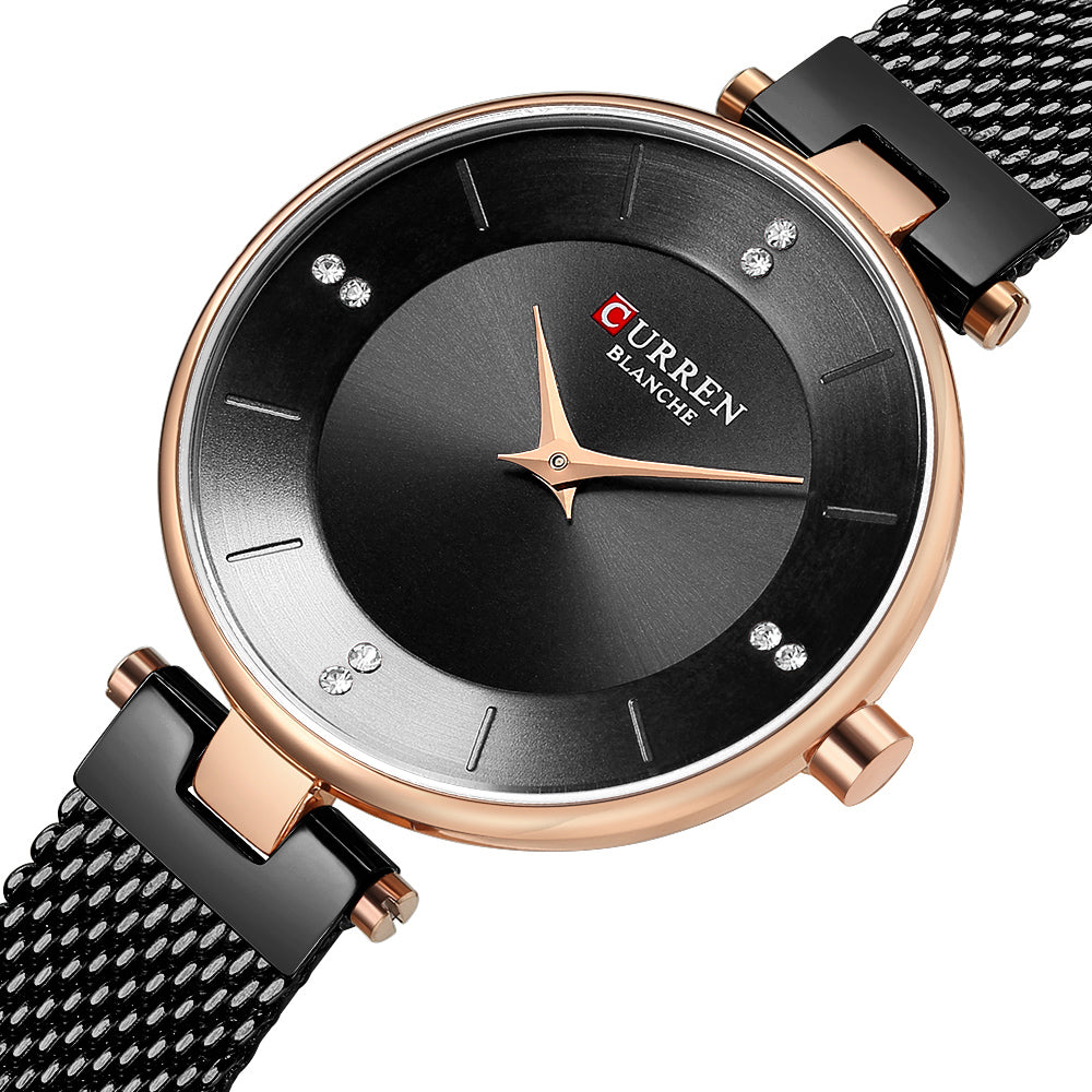 CURREN 9031 Ultra Thin Dial Case Elegant Design Women Watch