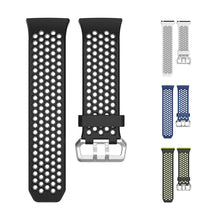 Load image into Gallery viewer, 22mm Large Silicone Watch Band for Fitbit Ionic Smart Watch