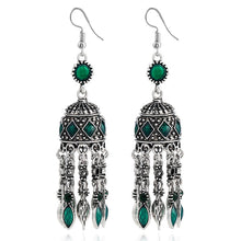 Load image into Gallery viewer, Ethnic Silver Earrings