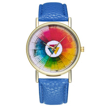 Load image into Gallery viewer, Vintage Color Wheel Color Board Women Quartz Watch