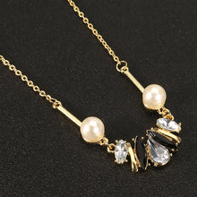 Load image into Gallery viewer, JASSY® Stylish Crystal Pearl Element Delicate Necklace