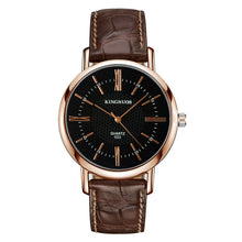 Load image into Gallery viewer, KINGNUOUS 022 Casual Style Leather Strap Men Wrist Watch