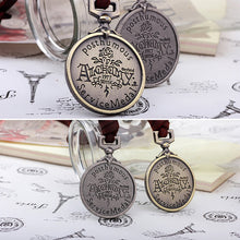 Load image into Gallery viewer, Rope Round Lettering Pendant Necklace