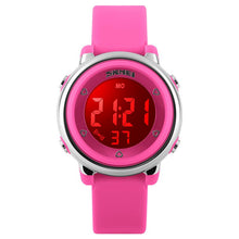 Load image into Gallery viewer, SKMEI 1100 Fashion Children Digital Watch LED Alarm Backlight Boys Girls Sport Watch