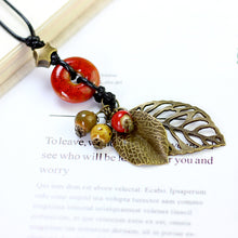 Load image into Gallery viewer, Cheap Ethnic Pendant Handmade Beads Necklace For Women