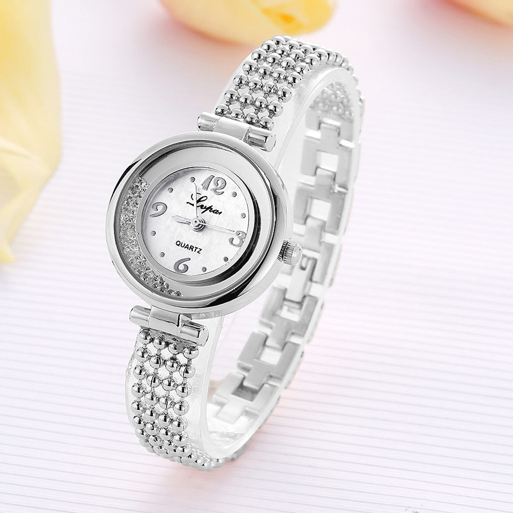 LVPAI P132 Elegant Design Shining Women Bracelet Watch
