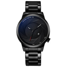 Load image into Gallery viewer, Creative Camera Aperture Dial Men Quartz Watch