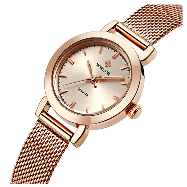 WWOOR 8823 Simple Design Elegant Ladies Wrist Watch