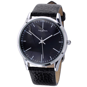 Story Time Retro Belt Ultra-thin Reverse Backwards Men Watch
