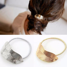 Load image into Gallery viewer, Fashion Leaf Hair Band Rope Hair Tie Hair Accessories