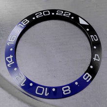 Load image into Gallery viewer, 38mm Watch Cover Ceramic Bezel Insert for GMT Parnis Watch