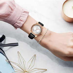 Deffrun Casual Style Waterproorf Women Wrist Watch