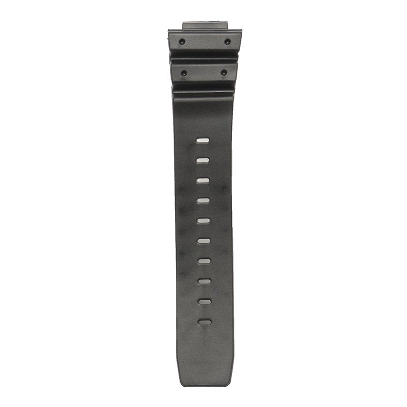 Replacement 25mm Black Silicone Rubber Watch Strap Band