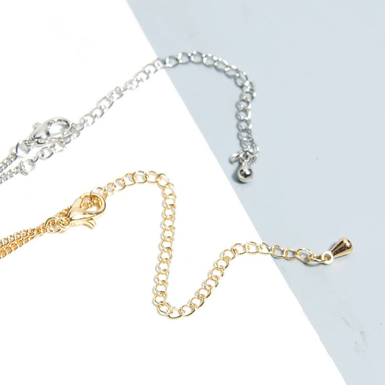 Trendy Gold Pendant Clavicle Necklace