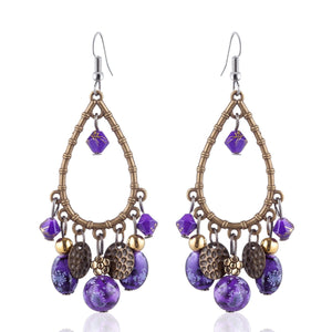Bohemian Tassels Drop Earrings
