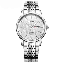 Load image into Gallery viewer, DOM M-11D Waterproof Business Style Men Wrist Watch