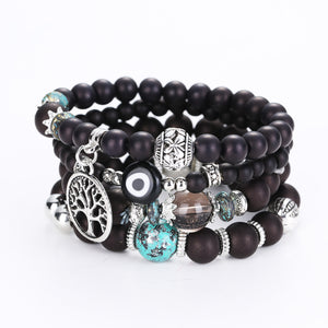 Bohemian Hollow Multilayer Bracelets