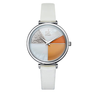 SHENGKE SK K0109 Women Segmentation Quartz Watch