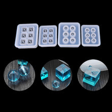 Load image into Gallery viewer, 1pcs 12mm/16mm Cube Ball Beads Silicone Mold 6 Compartment